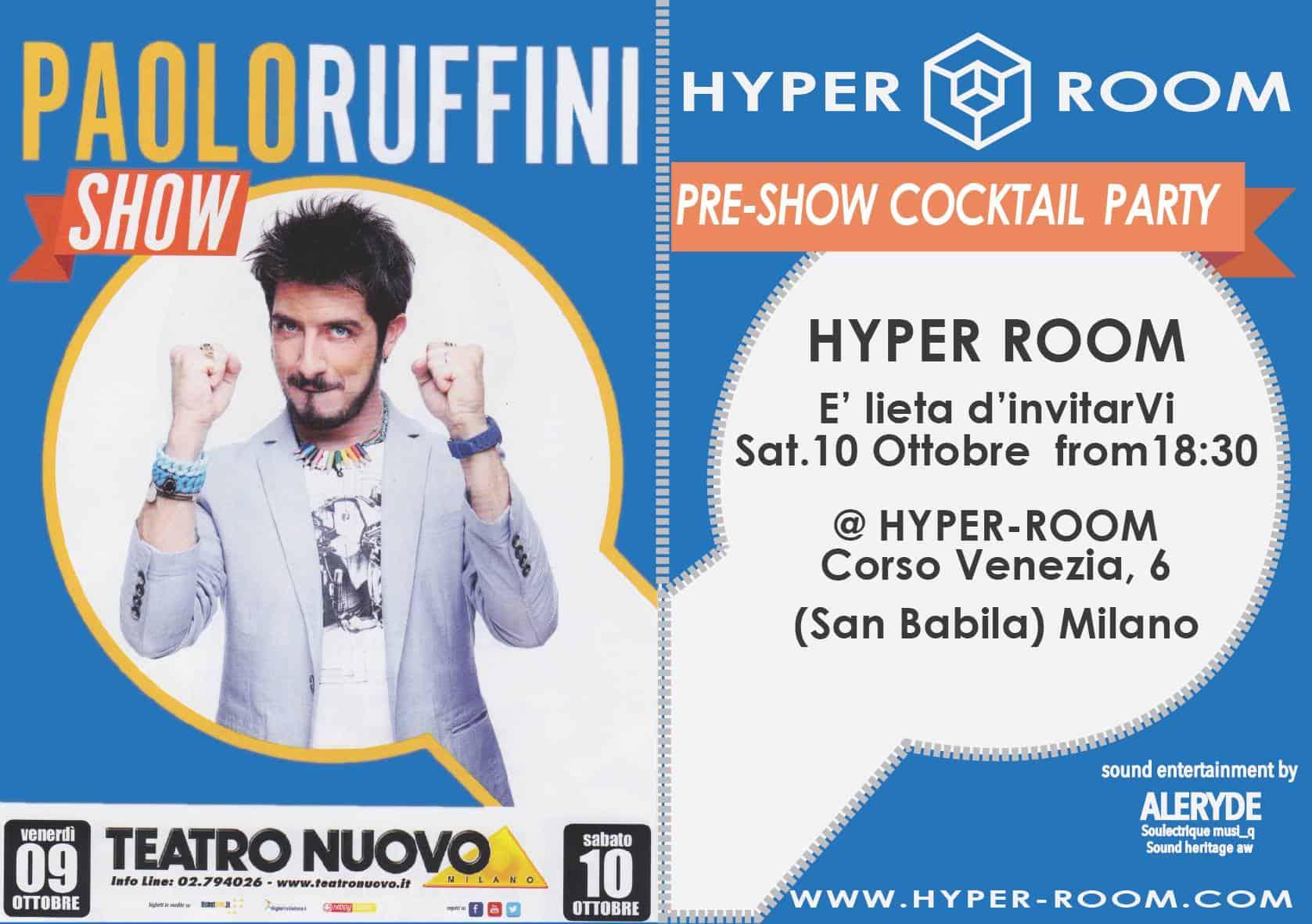 Preshow Paolo Ruffini 96